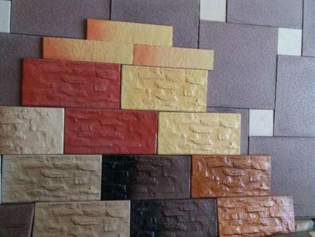 Разнообразие фасадной плитки