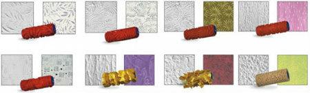Валики для разных типов покрытия