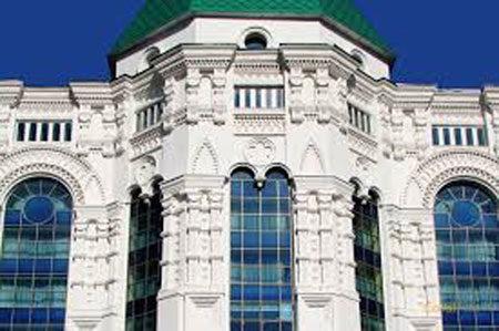 Стеклокомпозит в отделке фасада