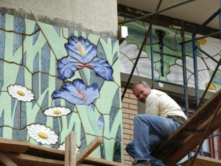 Облицовка из керамики фасада