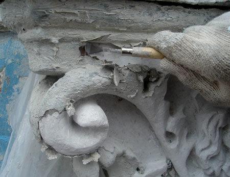 Реставрация лепнины