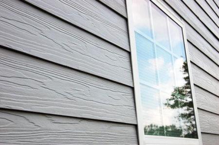 Фиброцемент в обшивке фасада