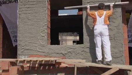 Выравнивание стен фасада