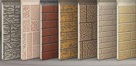 Полипропиленовые фасадные панели