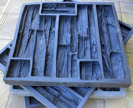 Форма для плитки под камень