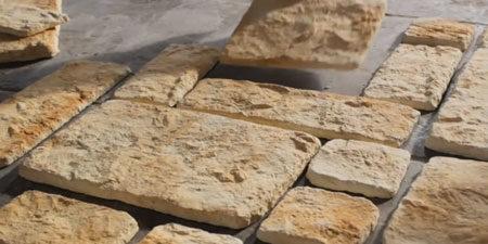 Раскладка камня для отделки фасада