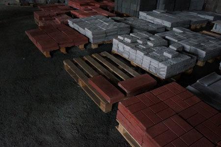 Хранение фасадной плитки