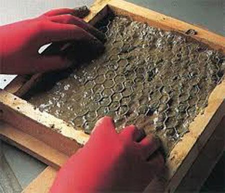 Армирование фасадной плитки