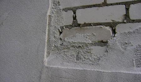 Выравнивание стены из кирпича