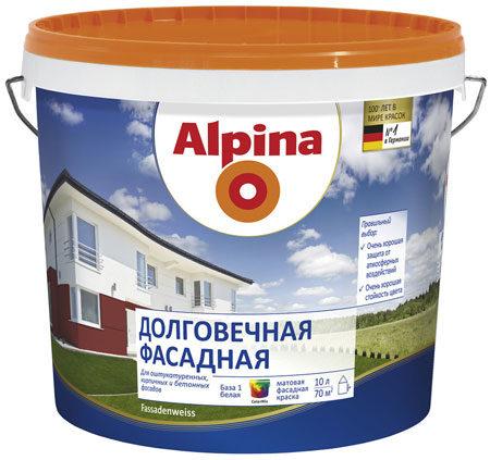 Фасадная краска Альпа