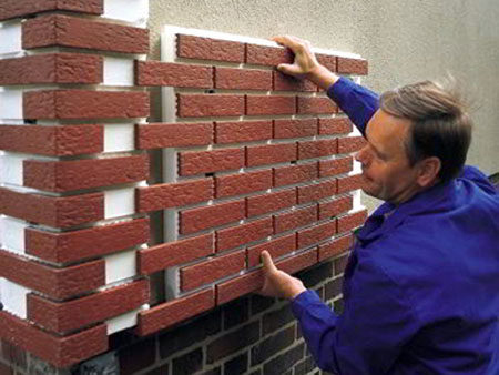 Монтаж термопанелей на стену