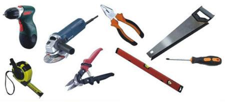 Инструменты для отделки фасада сайдингом