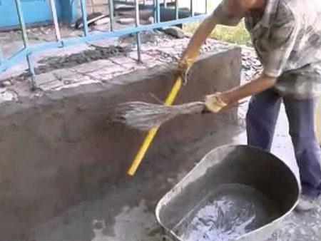 Оштукатуривание стен подручными средствами