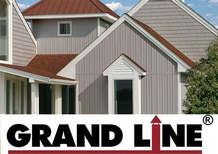 Вертикальный сайдинг Grand line
