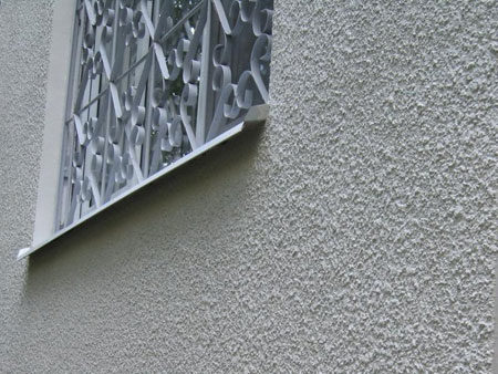 Штукатурка шуба на фасаде