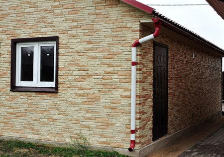 Фасад из металлосайдинга