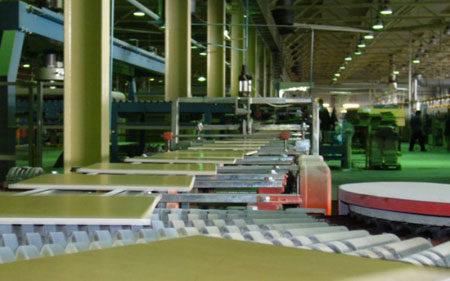 Изготовление керамогранитной фасадной плитки