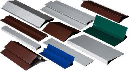Доборные элементы фасадных кассет
