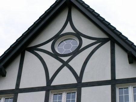 Фасадные панели под фахверк